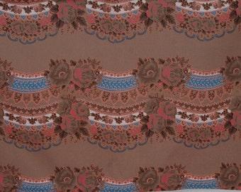 "Ukrainian/Russian scarf floral ornaments Kitchen towel, 70x50cm (28"" x 19"") Ukrainian/Russian scarf floral ornaments tea towel Cotton towel"