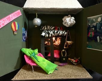 Custom Dollhouse Order - Bring an image YOU love to minature life!