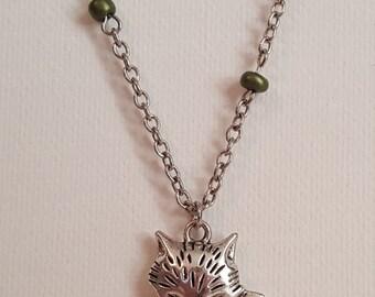 Silver Fox Necklace 1716