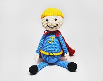 Custom Blonde Hair Doll - Blonde Superhero Doll - Custom Superhero Doll - Blonde Doll Custom Hair - Custom Superhero - Kid's Birthday Gift