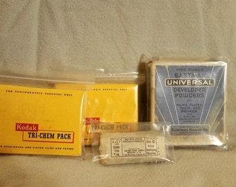 Vintage Eastman Kodak Developing Powders