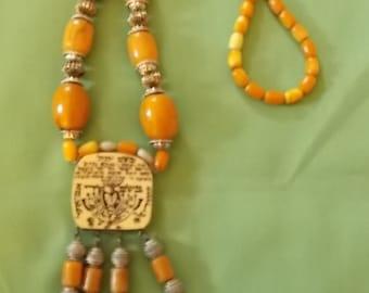 Vintage Jewish Jewelry Necklace