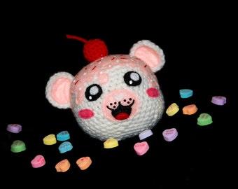 Valentine's Day Vanilla Cupcake Bear