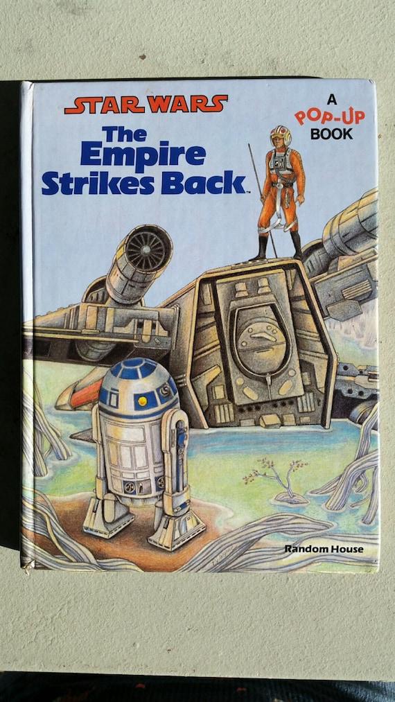 1980 Star Wars Pop Up Book The Empire Strikes Back Random