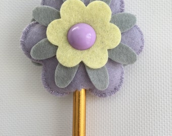 Flower Pencil Toppers, Back to School Gift