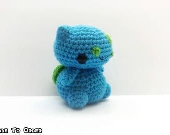 Crochet Bulbasaur Inspired Chibi Pokemon