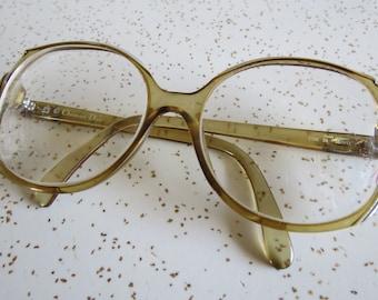 Vintage 80's Oversized Christian Dior Plastic Frame Glasses - Barb Stranger Things Style