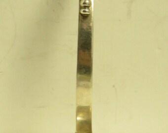 "Vintage Sterling Silver Ladle Signed,""Ramirez"" Mexico, Blossom Pattern 6"" Ladle."