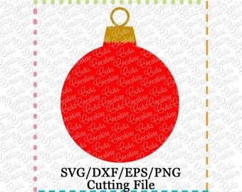 EXCLUSIVE SVG Ornament Cutting File, ornament cut file, ornament svg, Christmas Ornament svg, Christmas svg, Christmas cutting file