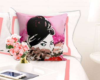 Cozy Lady Pillow