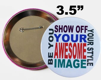"""photo buttons,large photo pin,bride to be button pin,Bachelorette Party Buttons,birthday button pin badge,3.5"""" button pin,wedding photo pin"""