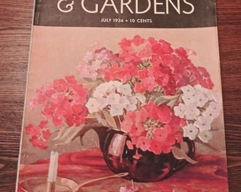Vintage Better Homes and Gardens July 1934