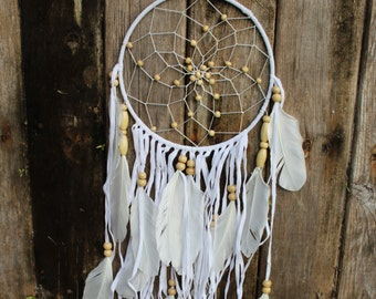 Expanded Angel Wing Dream Catcher
