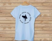 Surfer Dad Surfer Dude T-shirt - Father's Day Gift - T-shirt for Dad - Available in 5 Colors