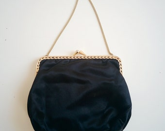 50s little satin clutch