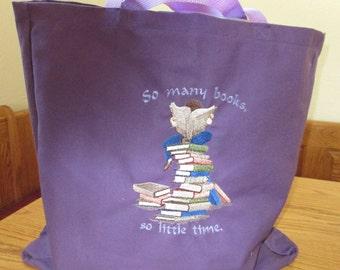 So Many Books reusable Market Bag