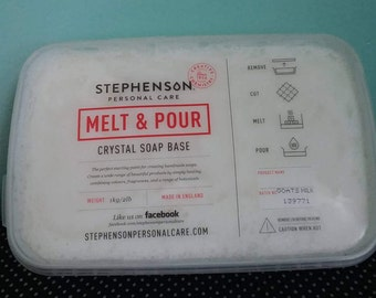 Goats Milk Stephenson Melt & Pour Soap Base 2lbs