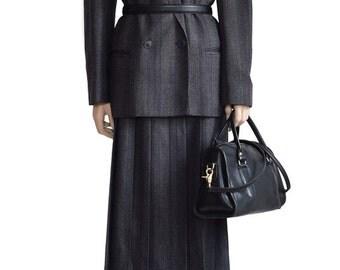 Vintage Suit, Harve Bernard Gray Glen Plaid Suit, 1980s Suit, Women's Suit, Women's Clothing, Wool Suit, Plaid Suit, Women's Fashion, Suits