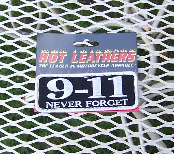 9-11 Never Forget Patch September 11 Patches