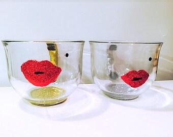 Lipstick Mug, Makeup Mug, Party Cups, Makeup Artist Gift, Glam Gift, Bridal Shower Favor, Easter Mug, Easter Gift, Easter Basket Fillers