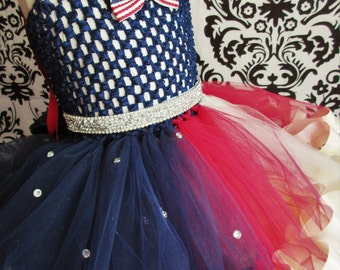 4th of July Tutu Dress/4th of July Tutu/4th of July Dress/Fourth of July Dress/Fourth of July Tutu/Fourth of July Tutu Dress/Patriotic Tutu