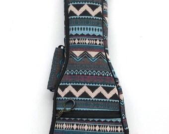 Ethnic Bohemia Ukulele Case Ukulele Bag Soprano