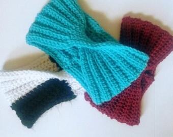 ear warmer headband crochet knit earwarmer headband