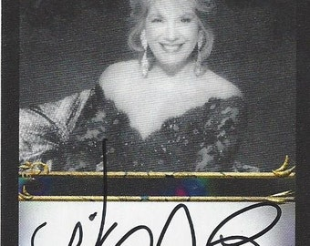 Vikki Carr Authentic AUTOGRAPHED Custom Trading Card