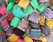 Frankensocks Kit - Hand Dyed Sock Yarn - 20 5 gram Mini Skeins