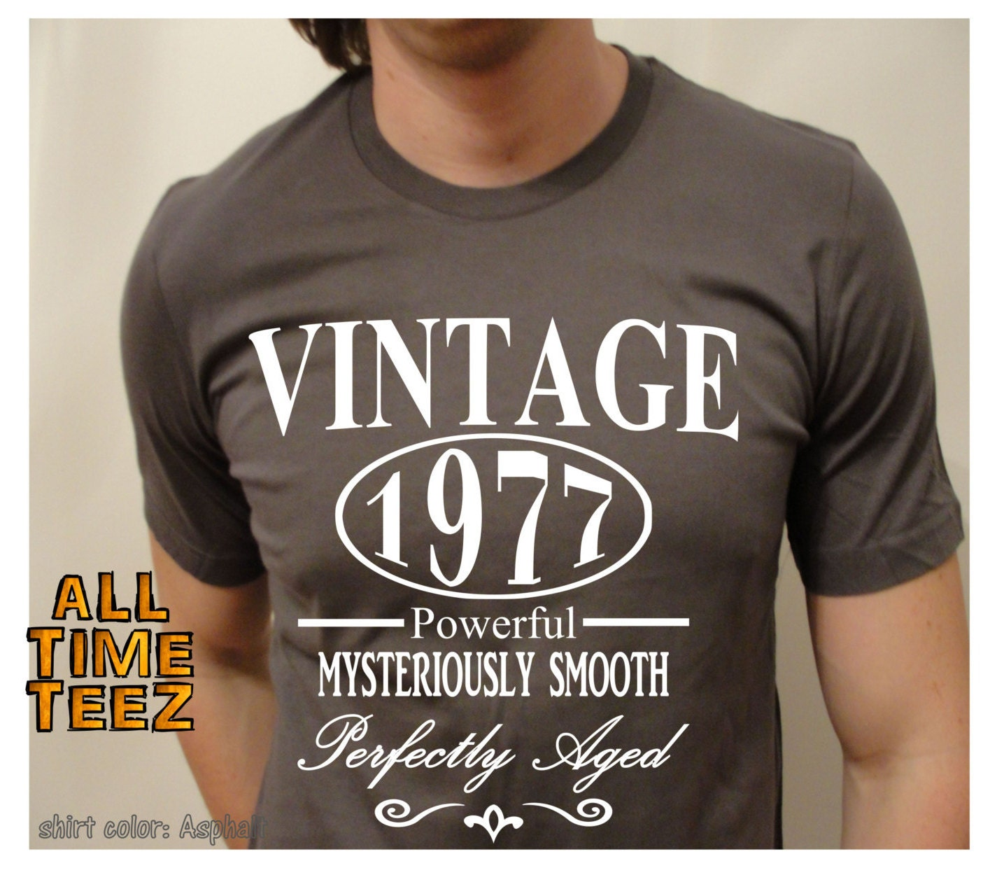 23 Awesome 40th Birthday Gift Ideas For Men: 40th Birthday Gift For Men. Vintage 1977. 40th Birthday