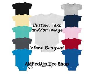 Custom Infant Bodysuit, Custom Baby Shirt, Custom Baby Bodysuit, Infant Tee, Infant Dress