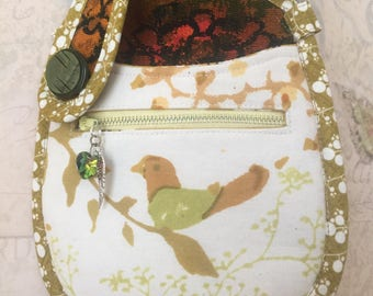 Lina Pocket Pouch In Vintage Free Bird