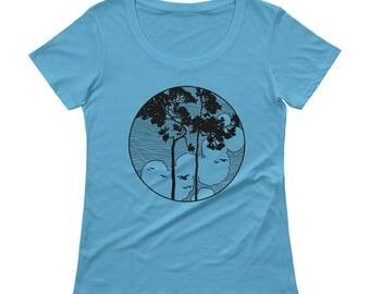 Tree Tshirt - Tree T Shirt - Womens T Shirt - Graphic Tee - Ladies Tshirt - Tree Tee