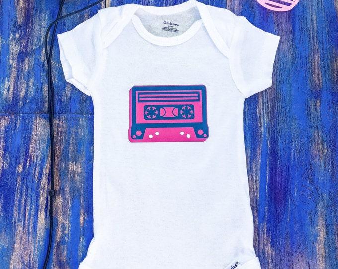 Cassette Tape Onesie