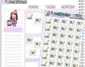 Writing Planner Sticker College Student Sticker Paper Due Sticker Essay Sticker Assignment Sticker Hand Drawn Stickers Erin Condren - 491