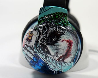 Customized Headphones - Unique Earphones Hand Painted Music Accessories Gifts Men's Woman's Gift