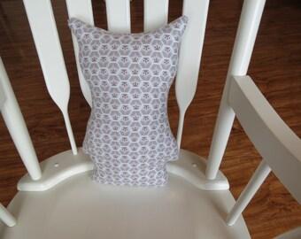 Organic Owl Pillow, Owl Plush Toy, Nursery Decor, Nursery Pillow, Stuffed Animal Toy,