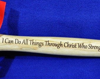 Gift For Priest ~ Church Gifts ~ Christian Gift ~ Gift For Pastor ~ Gift For Clergy ~ Engraved Gift For Pastor ~ Engraved Hammer ~ Church ~