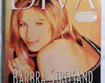 Vintage Book: DIVA Barbra Streisand and the Making of a Superstar Edited by Ethlie Ann Vare, Boulevard Books New York 1996