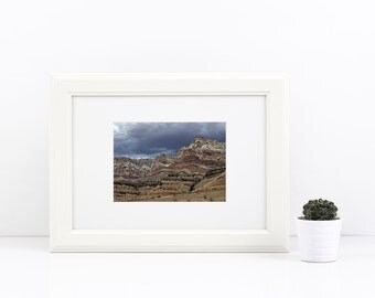 Digital Download of an Arizona Storm over the Desert, Instant Download, Large Print, Professional Photography