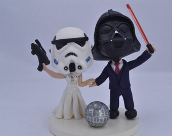 stormtrooper wedding cake topper handmade figurines amp cake toppers for by artificeproducciones 20536