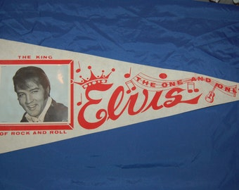 Elvis Presley Souvenir Pennant
