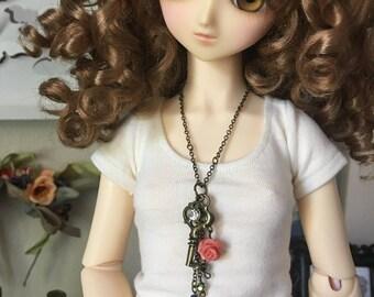 BJD Garden Key Necklace (SD 1/3 SD13 SD16 Feeple60)