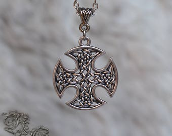 "Necklace "" Korsa "" - Medieval, celtic, viking, elven, fantasy, pagan, gothic"