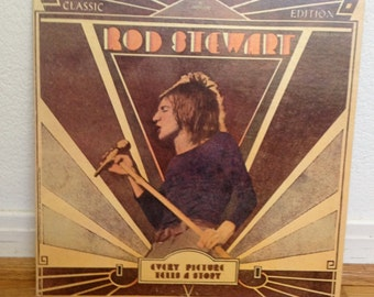 """Original Rod Stewart's Classic, """"Every Picture Tells a Story"""" Released in 1971"""