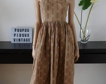 robe vintage VENTILO LA COLLINE taille 40 - uk 12 - us 8