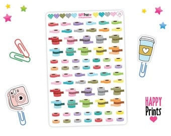 Washi Tape Stickers, Planner Stickers