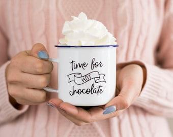 Hot Chocolate Mug Etsy