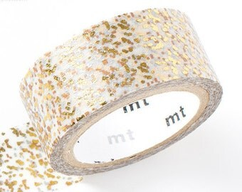 mt fab Golden Glitter Washi Tape