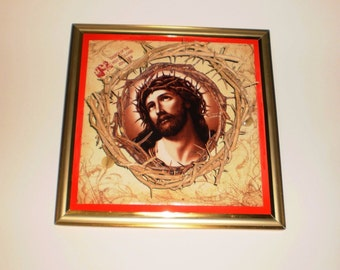 Christian wall art , Crown of Thorns ,Authentic Jesus Biblical Crown of Thorns ,Jesus crown , Hand Made , Wall Decor ,Free shipping